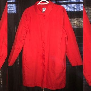 GAP RED Trench Jacket